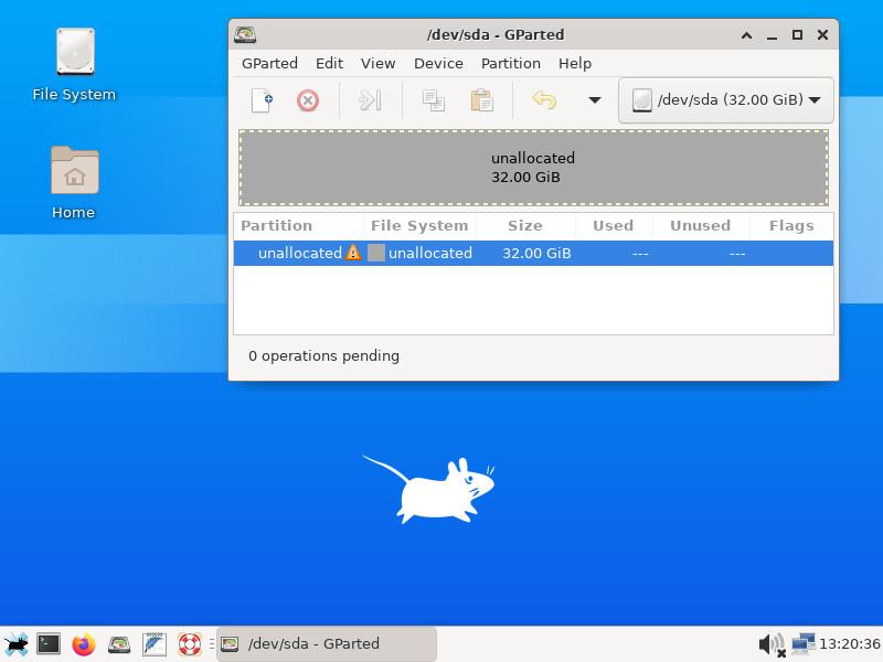 Screenshot 1 - SystemRescue