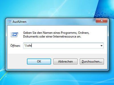Freigaben unter Windows XP finden ©COMPUTER BILD
