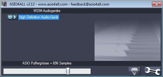 Screenshot 1 - ASIO4ALL