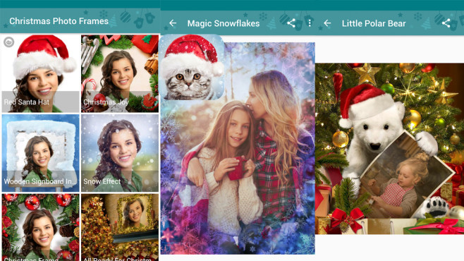 Weihnachten Foto Rahmen©VicMan LLC