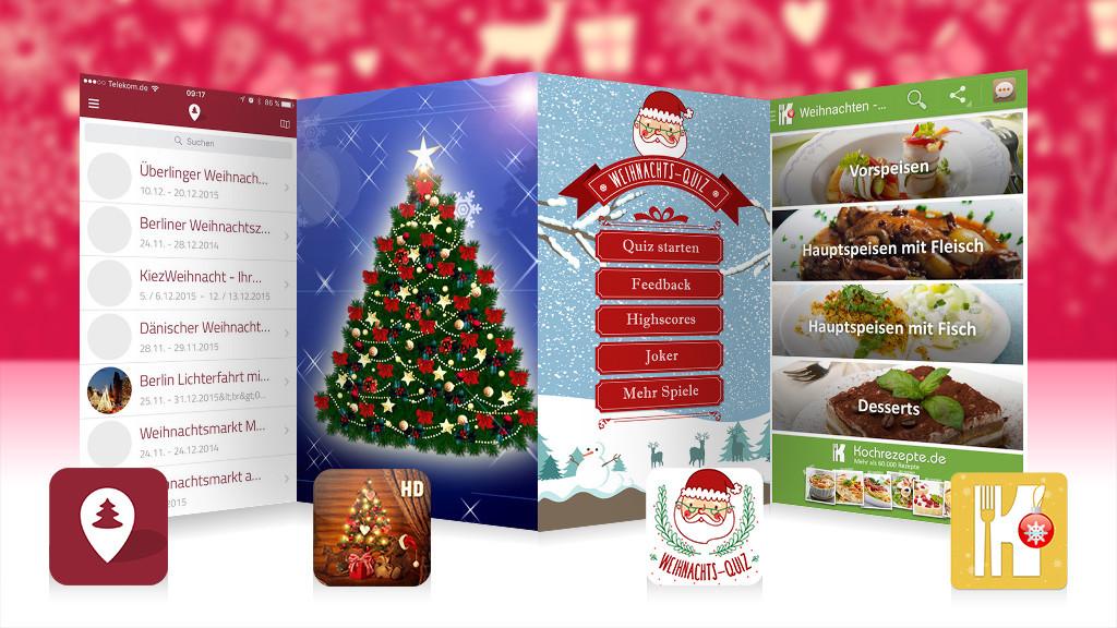 App Weihnachtsbilder.Die Besten Weihnachts Apps Für Ios Und Android Computer Bild