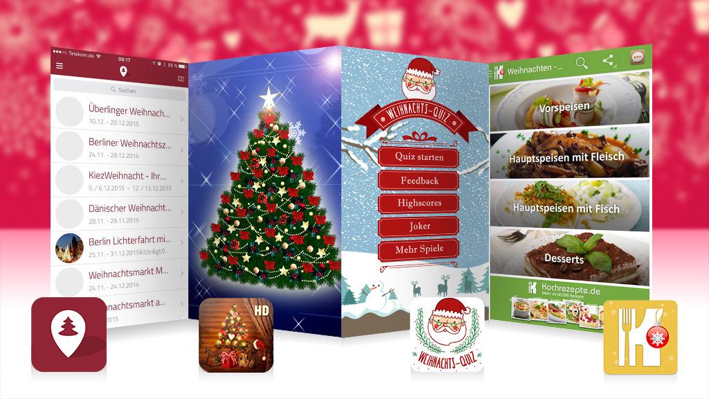 Die besten Weihnachts-Apps für iOS und Android - COMPUTER BILD