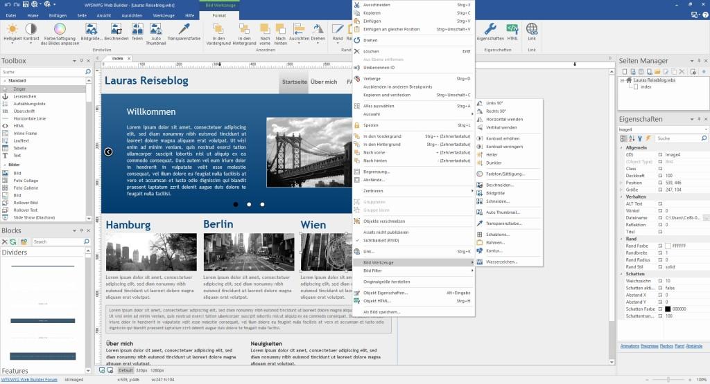 WYSIWYG Web Builder 14 2 1 - Download - COMPUTER BILD