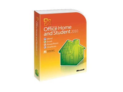 Microsoft Office Home and Student 2010 © Amazon