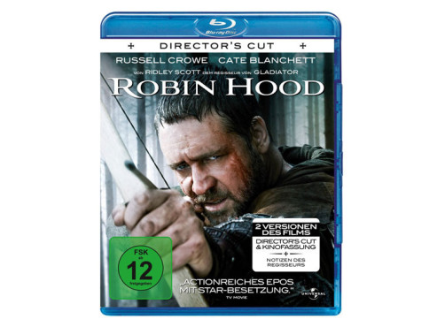 Robin Hood (Director`s Cut & Original-Kinofassung, Blu-ray) © Amazon