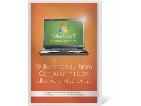 Windows 7 Home Premium 64 Bit OEM © Amazon