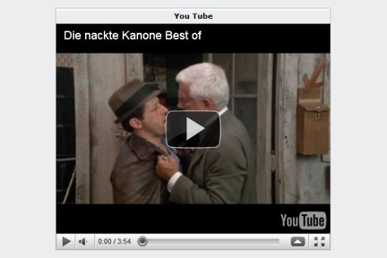 "Best of ""Die nackte Kanone"" © Youtube.com"