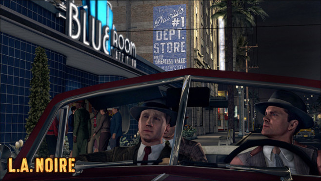Actionspiel L.A. Noire: Blue Room © Rockstar Games