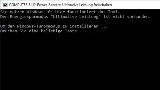 COMPUTER BILD-Power-Booster: Ultimative Leistung freischalten ©COMPUTER BILD