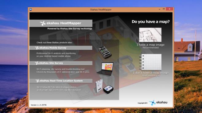 Ekahau Heatmapper: WLAN-Empfang verbessern ©COMPUTER BILD