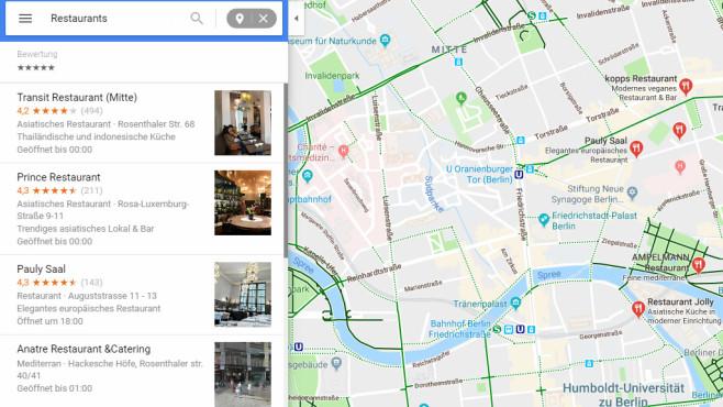 Google Maps: Karten zum Navigieren ©COMPUTER BILD