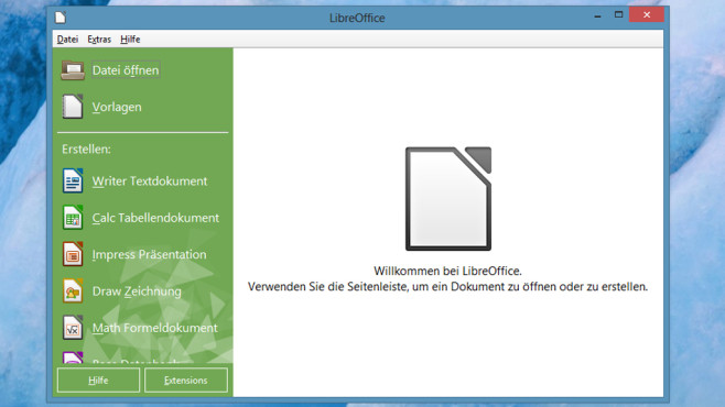 LibreOffice: Vollwertige Büro-Suite ©COMPUTER BILD