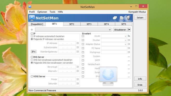 NetSetMan ©COMPUTER BILD