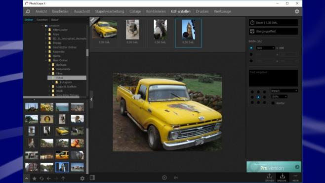 Photoscape: Fotosammlung verwalten ©COMPUTER BILD