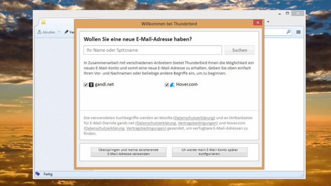 Thunderbird: E-Mails empfangen und verschicken ©COMPUTER BILD