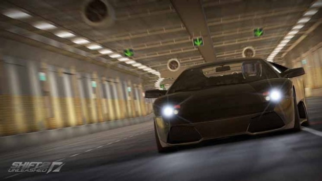 Need for Speed - Shift 2 Unleashed: Tunnel ©Electronic Arts