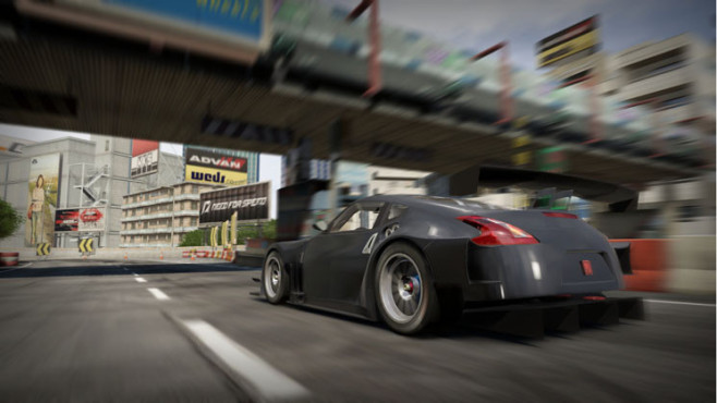 Rennspiel Need for Speed – Shift 2 Unleashed: Brücke ©Electronic Arts