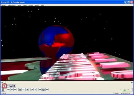 VLC Media Player: Aufnahme starten