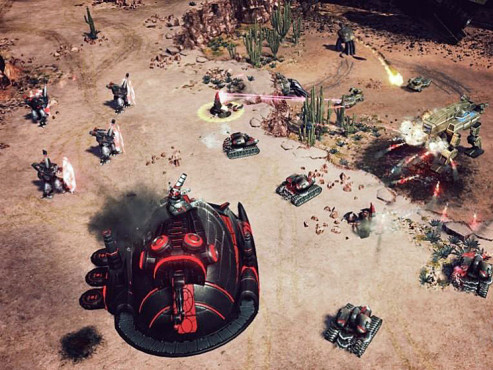 Gamesplanet: Command and Conquer 4 Tiberian Twilight © Electronic Arts
