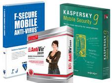 Virenschutz-Software für Mobiltelefone