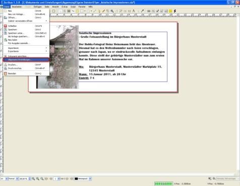 Scribus: Tipp: Grafikprogramme in Software einbinden