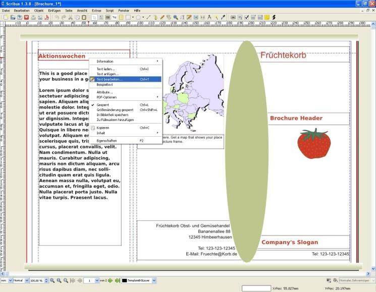 Scribus: Layouts und Druckvorlagen kostenlos am PC erstellen ...