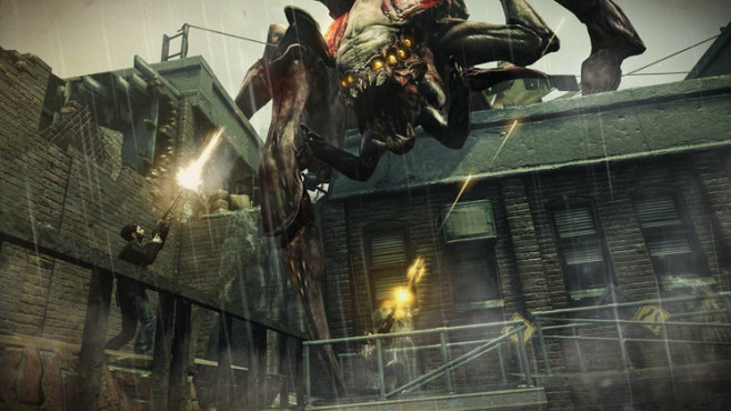 Actionspiel Resistance 3: Dach ©Sony