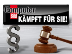 COMPUTER BILD k�mpft f�r Sie!©xmasarox - Fotolia.com, webdata - Fotolia.com, COMPUTER BILD