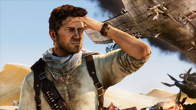 Uncharted 3 – Drake's Deception: Drake ©Sony