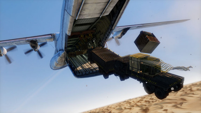 Uncharted 3 – Drake's Deception: Economy Class ©Sony