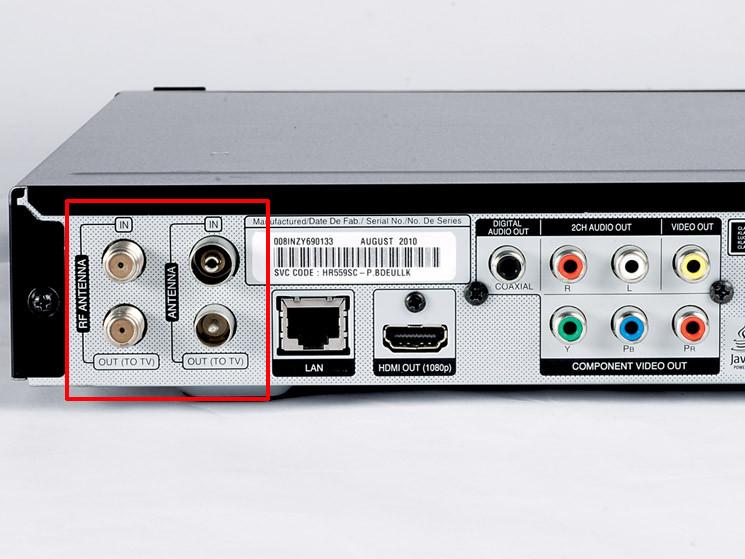 test sat receiver mit festplatte lg hr570s audio video foto bild. Black Bedroom Furniture Sets. Home Design Ideas