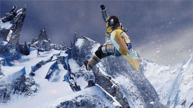 Sportspiel SSX: Moby ©Electronic Arts