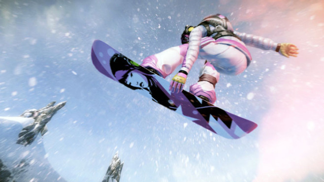 Sportspiel SSX: Painting ©Electronic Arts
