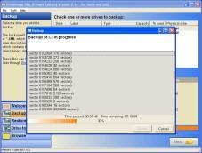 """""""DriveImage XML"""" erstellt komplette Sicherungskopien Ihrer Festplatten-Laufwerke und spielt diese bei Bedarf wieder zurück."""