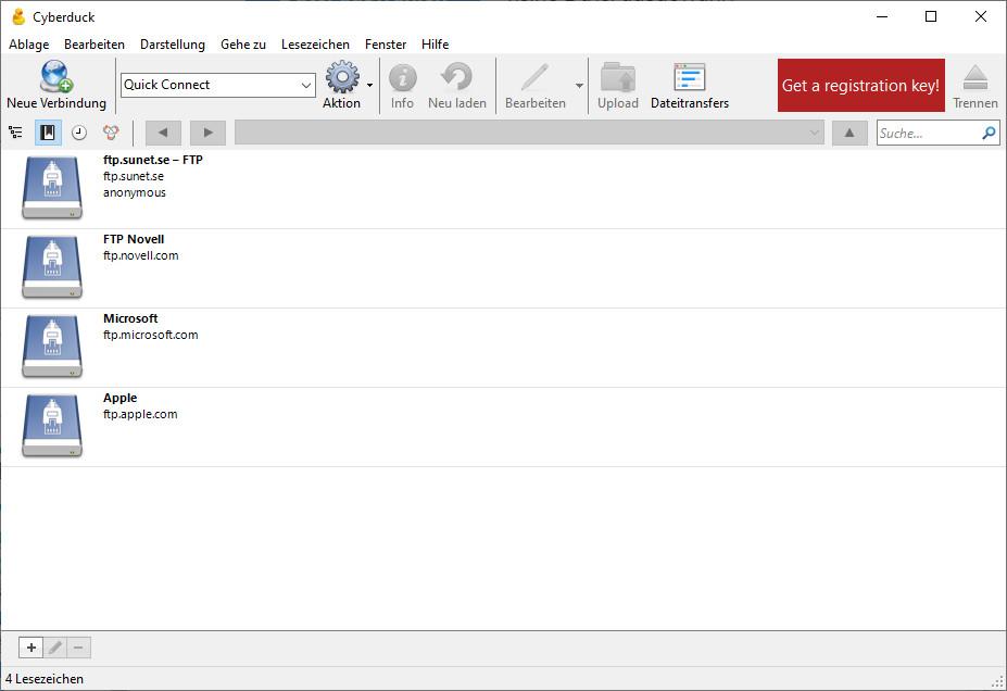 Screenshot 1 - Cyberduck