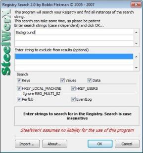 Registry Search