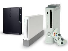 Spielekonsolen PS3, Xbox 360 und Wii: Hardware©Sony, Nintendo, Microsoft