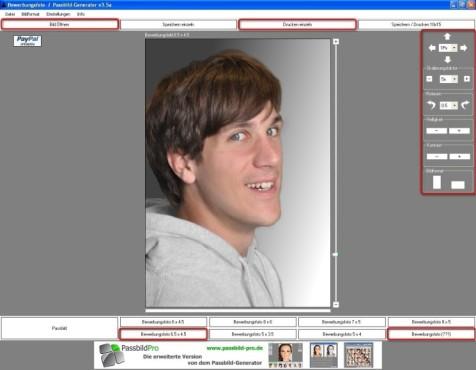 Passbild-Generator: Bewerbungsfotos optimieren