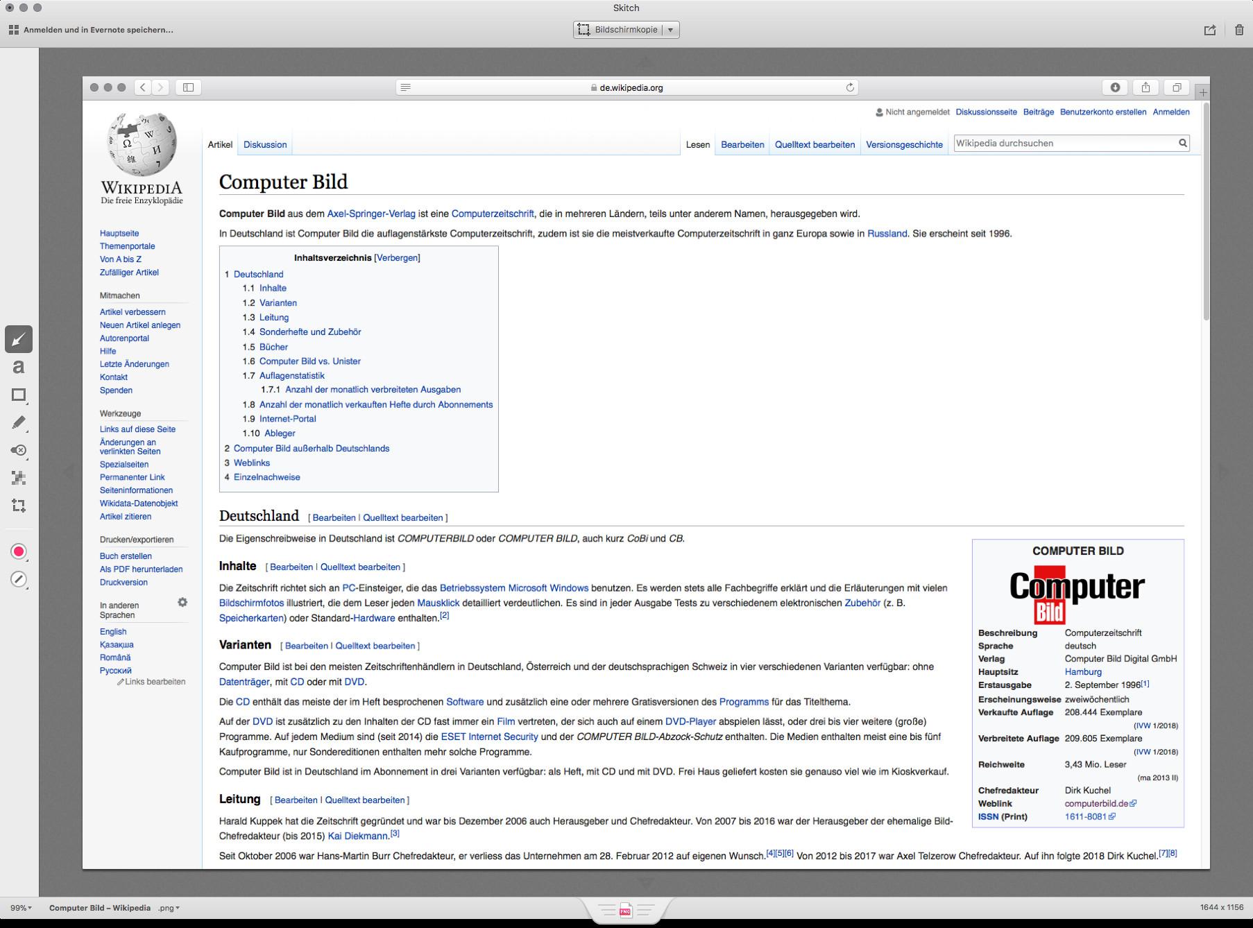 Screenshot 1 - Skitch (Mac)