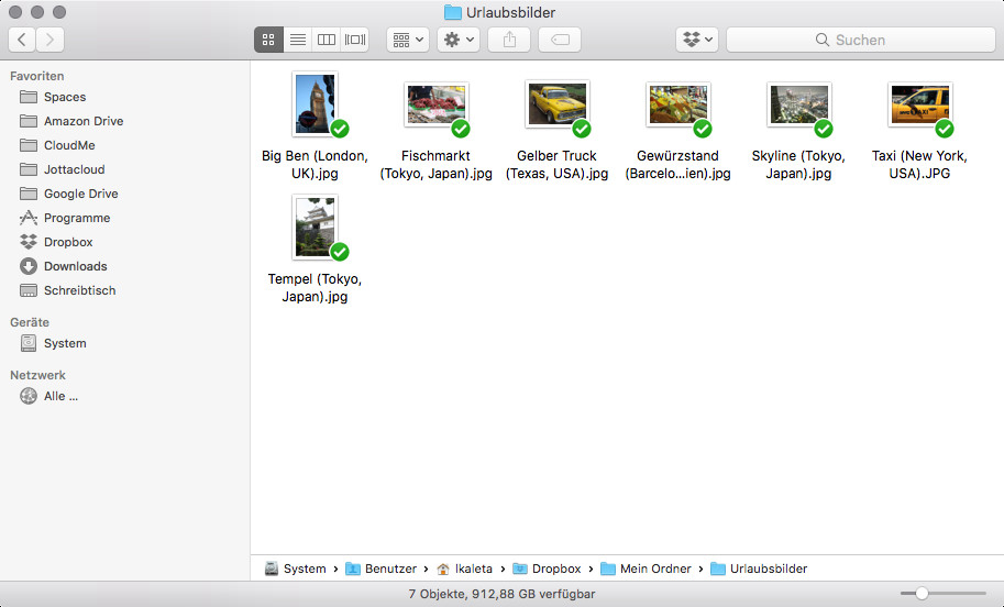 Screenshot 1 - Dropbox (Mac)