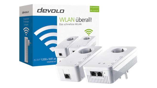 Devolo dLAN 1200+ WiFi ac©Media Markt