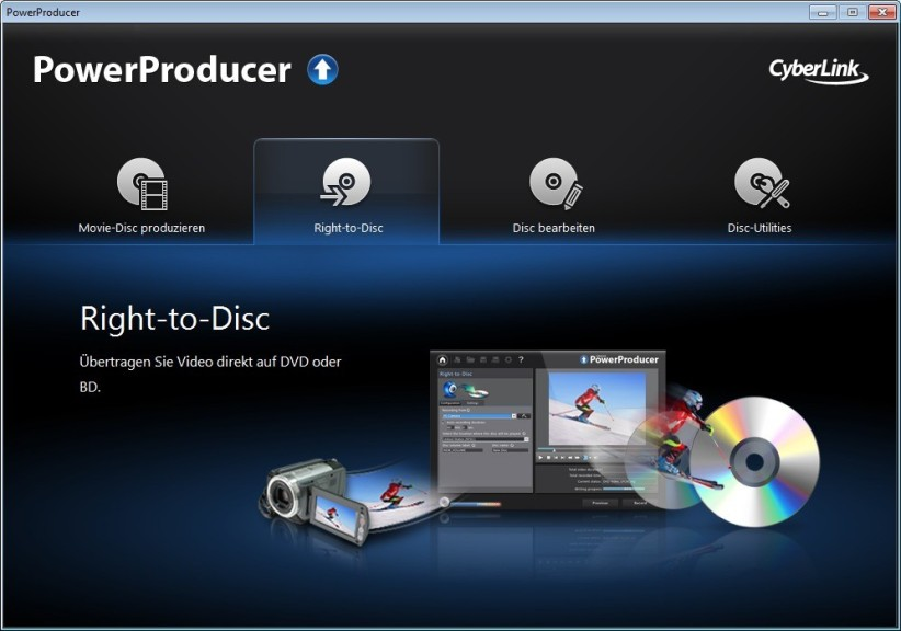 Screenshot 1 - PowerProducer