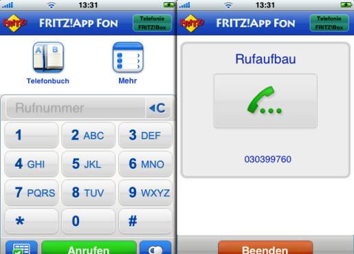FRITZ!App Fon ©Apple