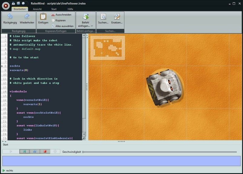 Screenshot 1 - RoboMind