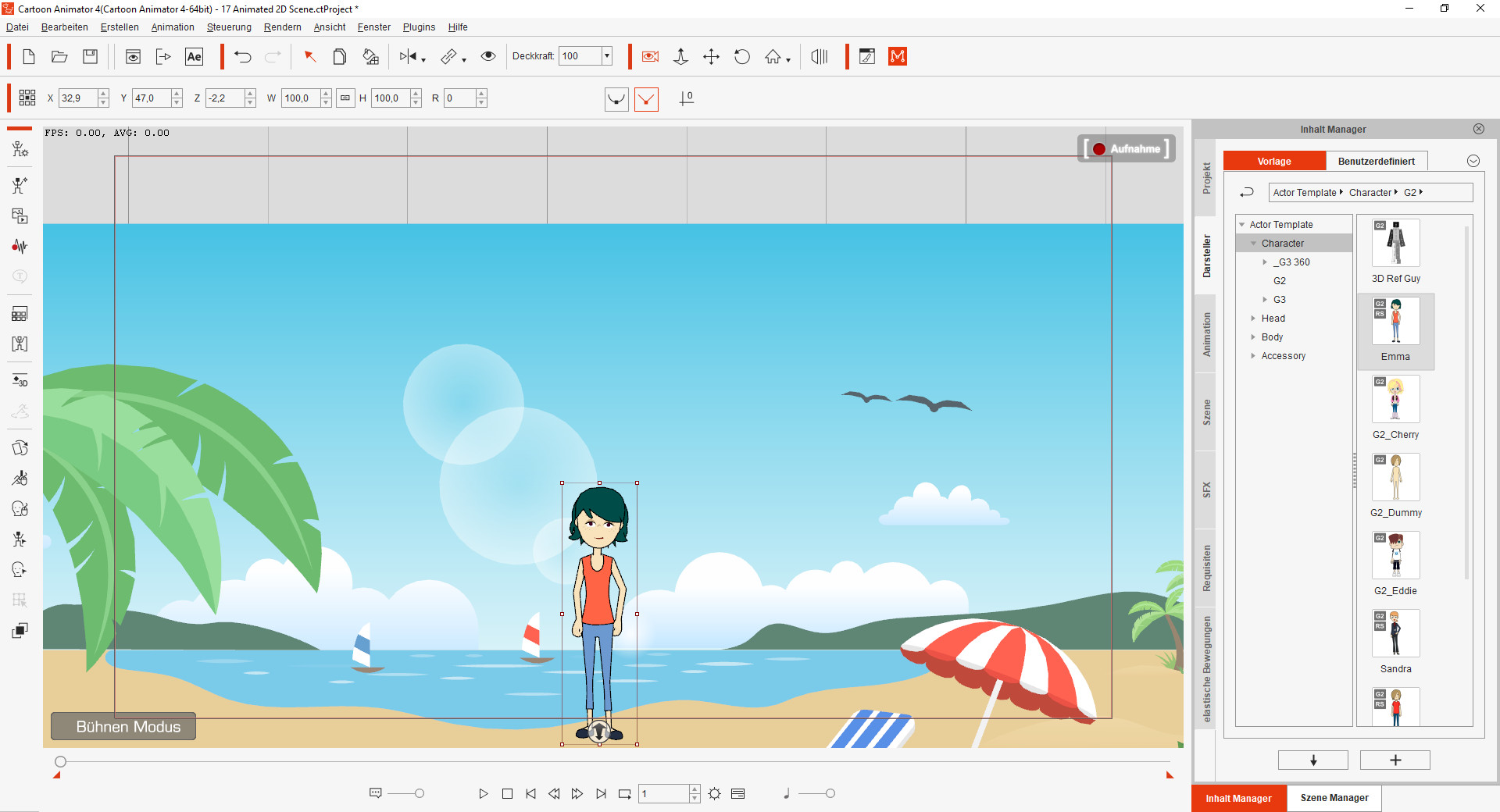 Screenshot 1 - Cartoon Animator