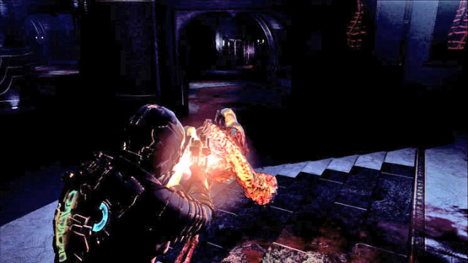 Actionspiel Dead Space 2: Angriff ©Electronic Arts