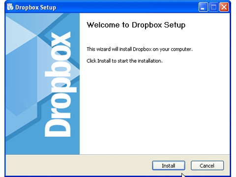 Dropbox-Installation