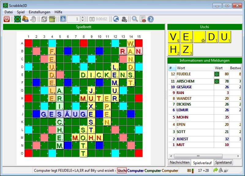 Schön Scrabble Bewertungsbogen Ideen - Bilder für das Lebenslauf ...