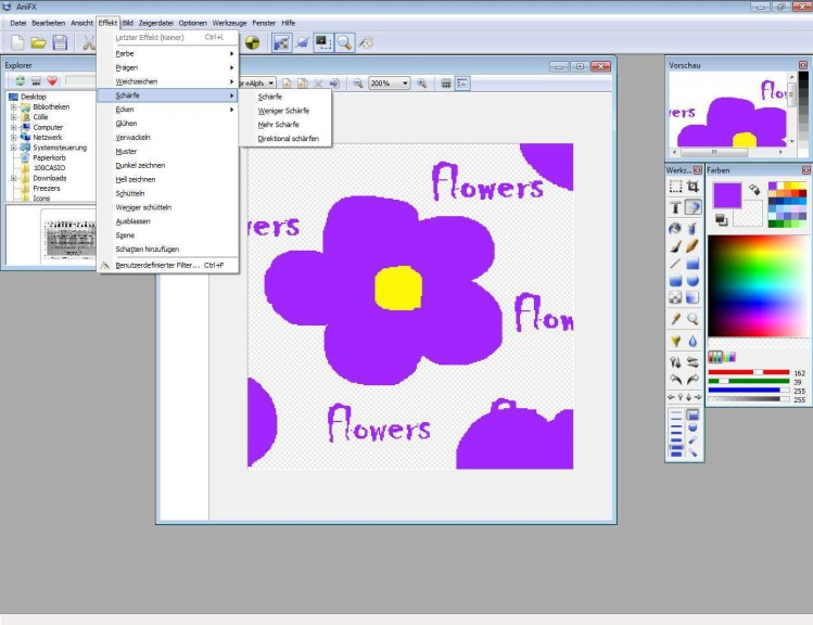 Screenshot 1 - AniFX