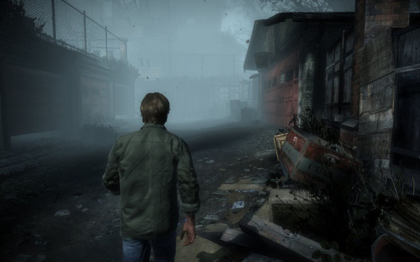 Actionspiel Silent Hill – Downpour: Nebel © Konami